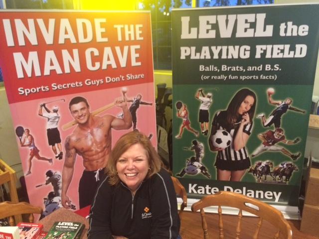 Man Cave Brats : Kate delaney espeakers